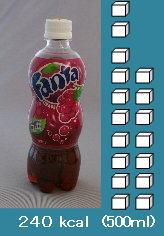 砂糖がどれくらい 食べ物 飲料003