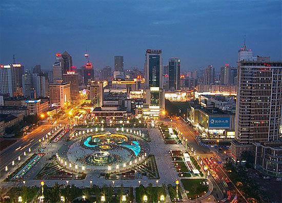 成都市 夜景2