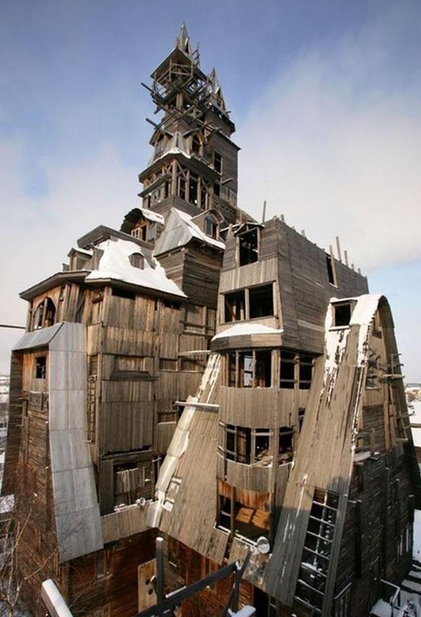世界の変わった建物36