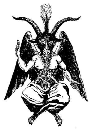 悪魔 左利き