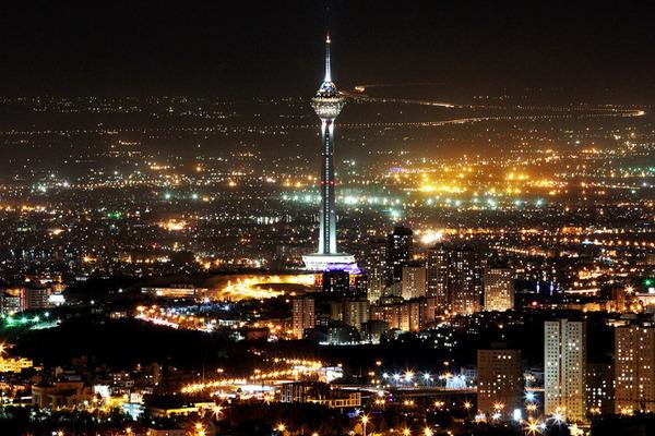 テヘラン 夜景