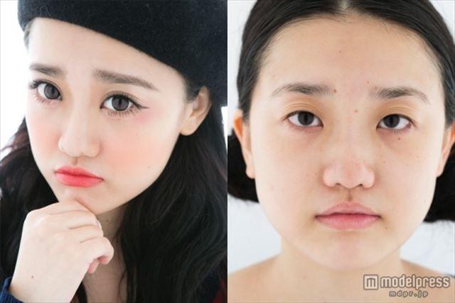 化粧 メイク ビフォーアフタ1016