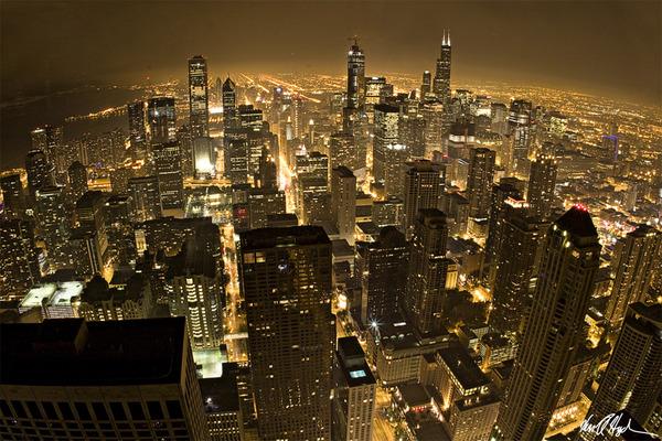 シカゴ 夜景