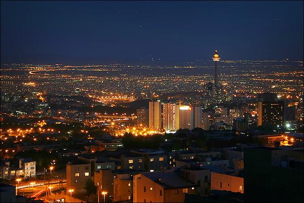 テヘラン 夜景2
