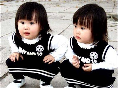 双子 左きき