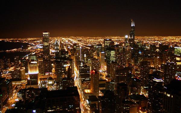 シカゴ 夜景2