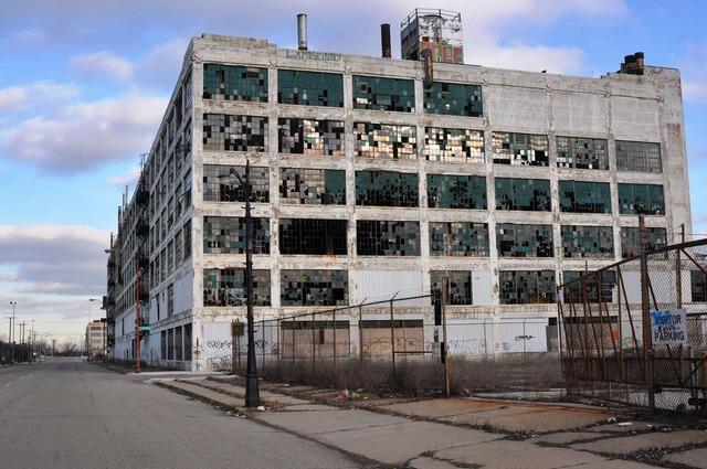デトロイト 廃墟7