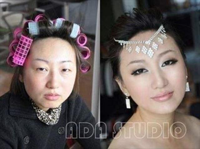 化粧 メイク ビフォーアフタ1025