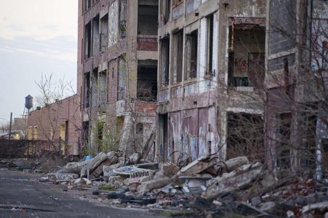 デトロイト 廃墟8