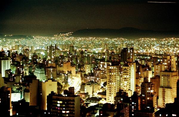 サンパウロ 夜景