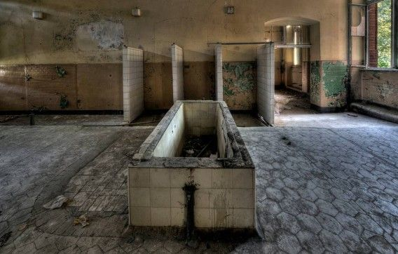 心霊スポット ベーリッツ陸軍病院 (2)