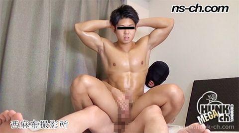 【Hunk-ch.com】次世代筋肉男子俊樹君!!-1