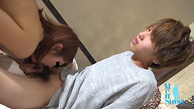 【Men's Rush】18歳の親友が女の子相手に激ピストン!-1