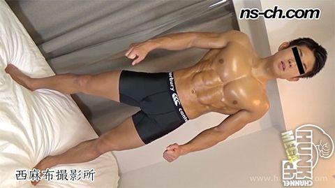 【Hunk-ch.com】NS-591 体育会男子が仁王立ち(俊樹君編)-1
