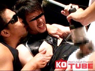 【KOゲイ動画】機械と男根で責められ絶叫悶絶!! 中村雄星 正統派男前…激しいアナルセックスにも悶絶状態!