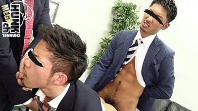 【gaypornゲイ動画Hc】渋谷系サラリーマンは乱交セックス大好き!! 働く男達 part16