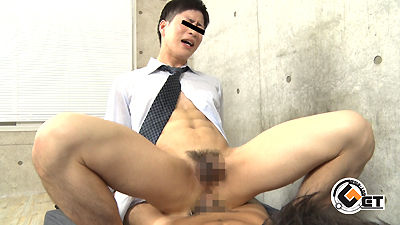 【Men's Rush】スリ筋マイルドなルックスの青年が初掘られ♂-1