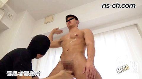 【ゲイ動画gayporn】「オシッコ出ちゃう!!」絶叫潮吹き! S級筋肉男子は潮吹き体質でした!!オシッコ出ちゃった!!