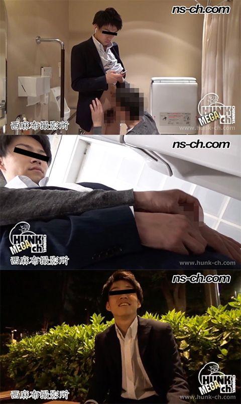 【Hunk-ch.com】仕事帰りのリーマンを発展トイレに連れ込み!!-2