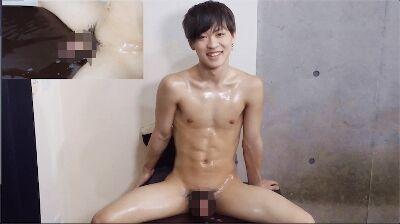 【Men's Rush】19歳のイケメンが射精後も攻められ続け-1