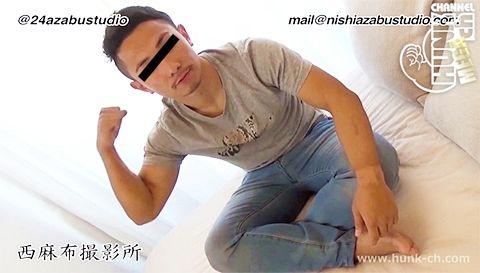 【gaypornゲイ動画Hc】ムキムキ19歳のポーカーフェイスが崩れイキ果てる!! 新人・体育会男子が初登場!!19歳で経験した男フェラの味!無表情の顔が歪む衝撃のラスト!!