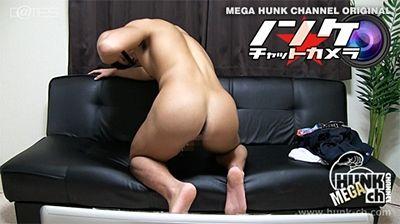 【ゲイ動画gaypornHc】プリケツ!ガチムチ!ノンケ! リアルビデオチャットで色黒マッチョ童顔ビー部の春樹(はるき)くん21歳がぶっ太い足を拡げながらエロポージングで腰を振る!!!