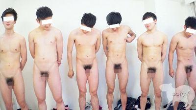 若いチンコがいっぱい! 第1回シコリンピック開催!!体育会系の男達が大量精子をぶっかけまくるッ!