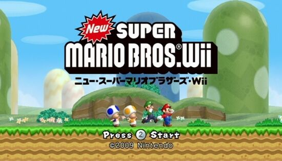 NewマリWii