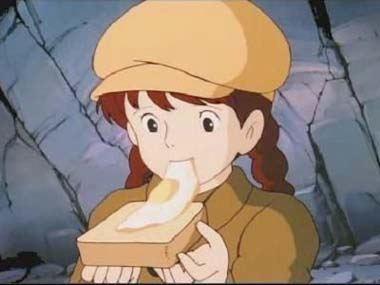 パズーのサンドイッチ