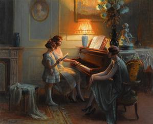 ピアノ絵画2