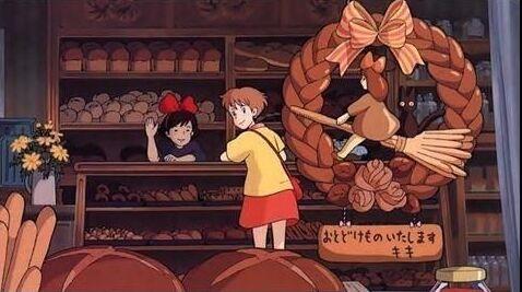 魔女宅のパン