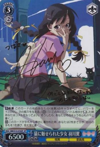 猫に魅せられた少女 羽川翼
