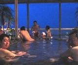 セミナー後の露天風呂♪