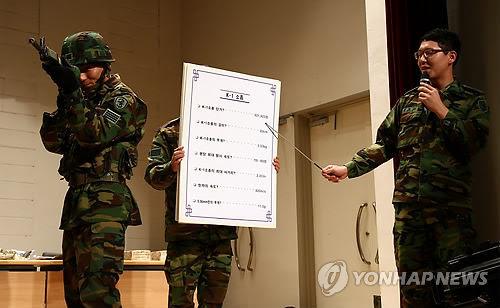 韓国軍陸軍23師団、大学生達と'軍の社会福祉'論議 : We loverイム ...