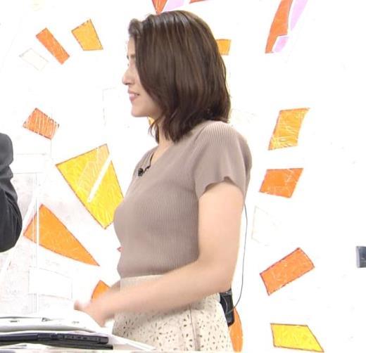 永島優美アナ 横乳