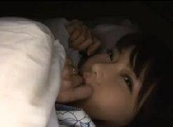【沖田杏梨】Lカップ超絶ボディにして超淫乱!貪欲人妻マンマンを温泉旅行で夜這いハメ撮り【天河】