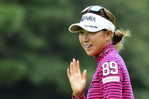 木戸愛2017日本女子オープンゴルフ選手権競技02
