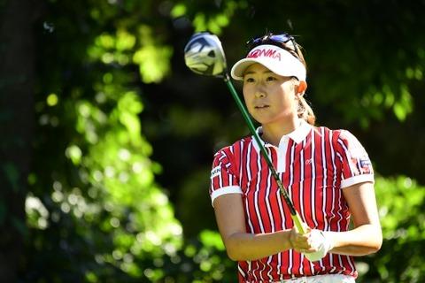 木戸愛2017日本女子オープンゴルフ選手権競技05