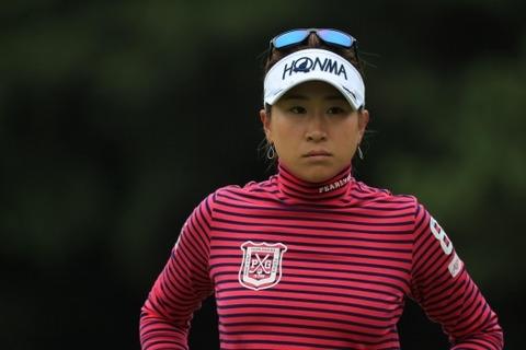 木戸愛2017日本女子オープンゴルフ選手権競技03