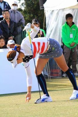 女子ゴルファー009