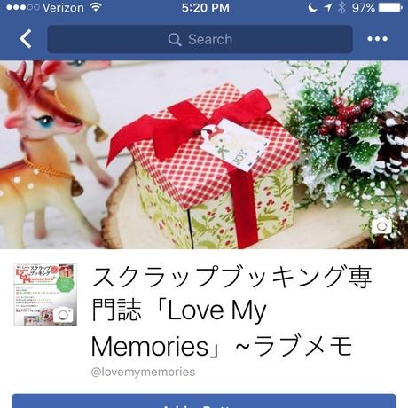 LoveMemo-FBpage