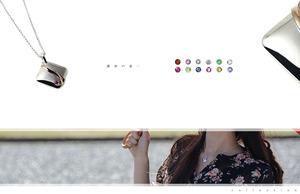 女性人気誕生石ネックレス