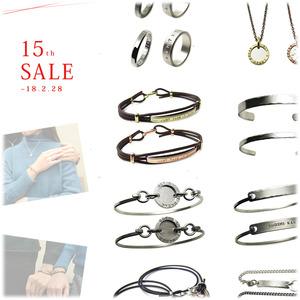 男女ユニセックス人気*おしゃれ文字デザインのブレスレットやバングル、ネックレスやリング等