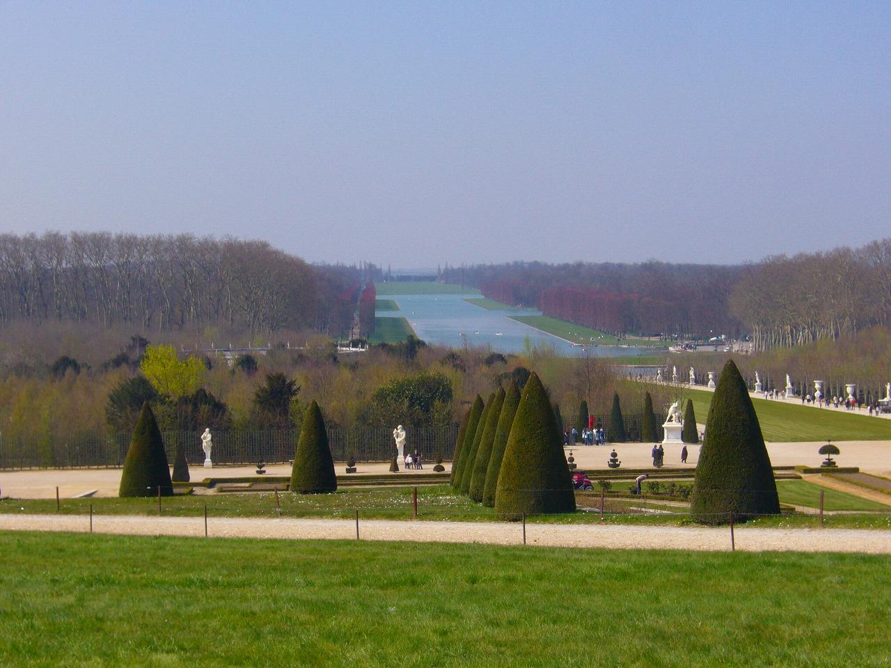 ベルサイユ宮殿庭4
