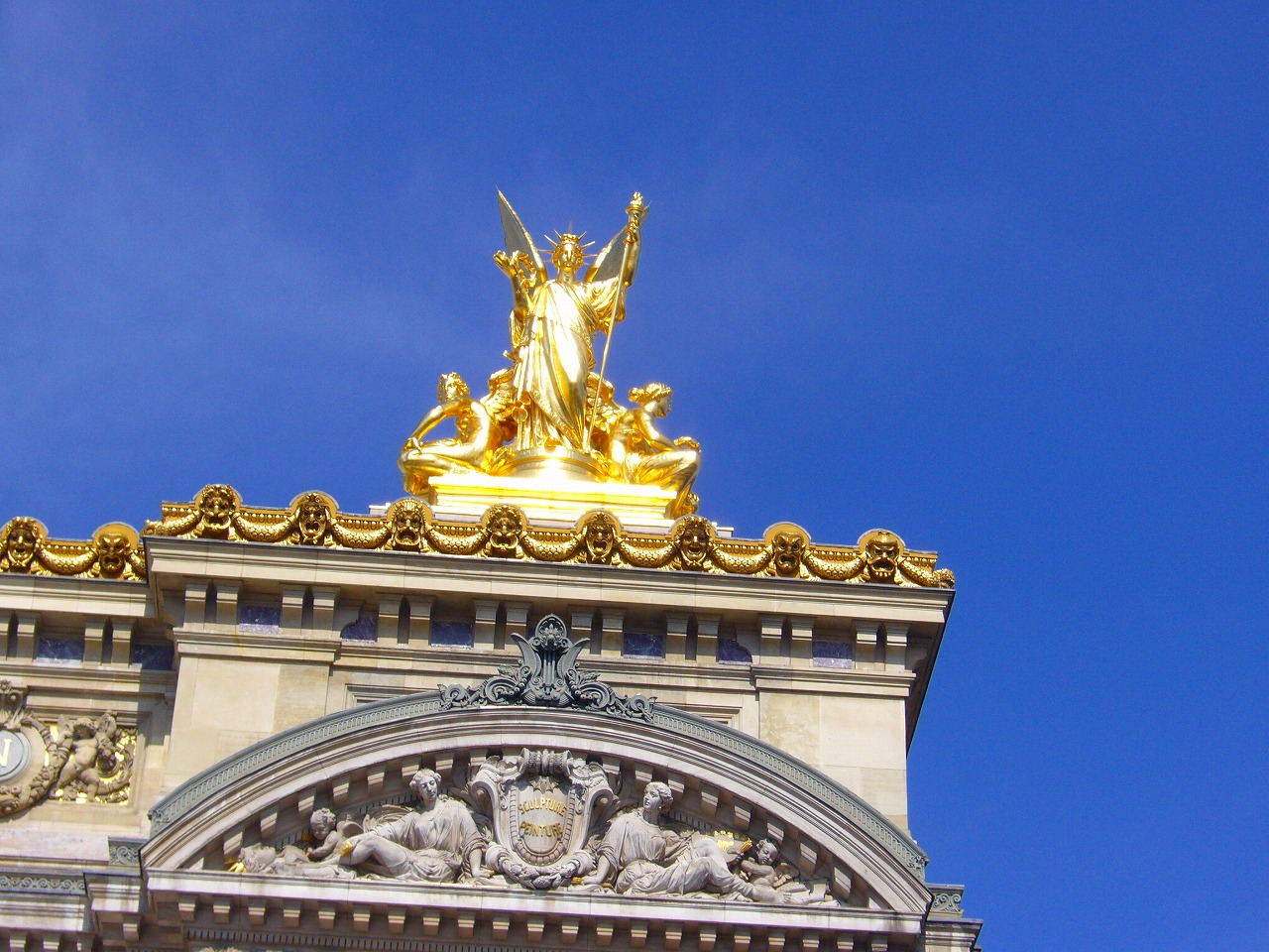 パリ市内バス観光
