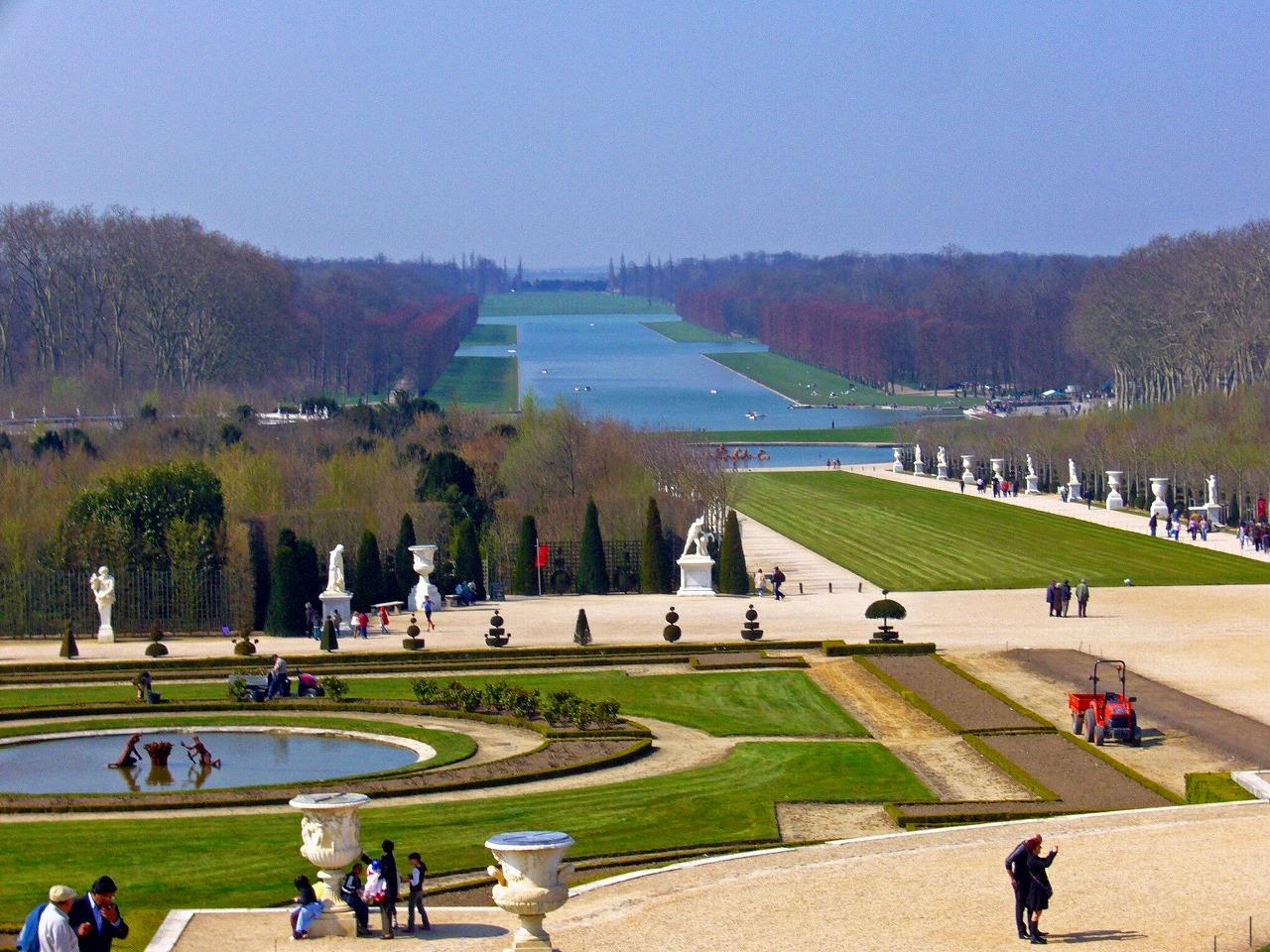 ベルサイユ宮殿庭5