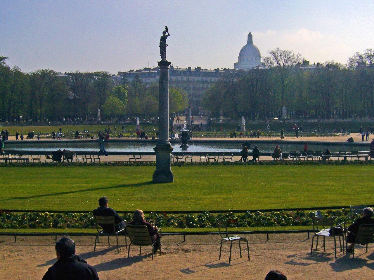 リュクサンブール公園の午前