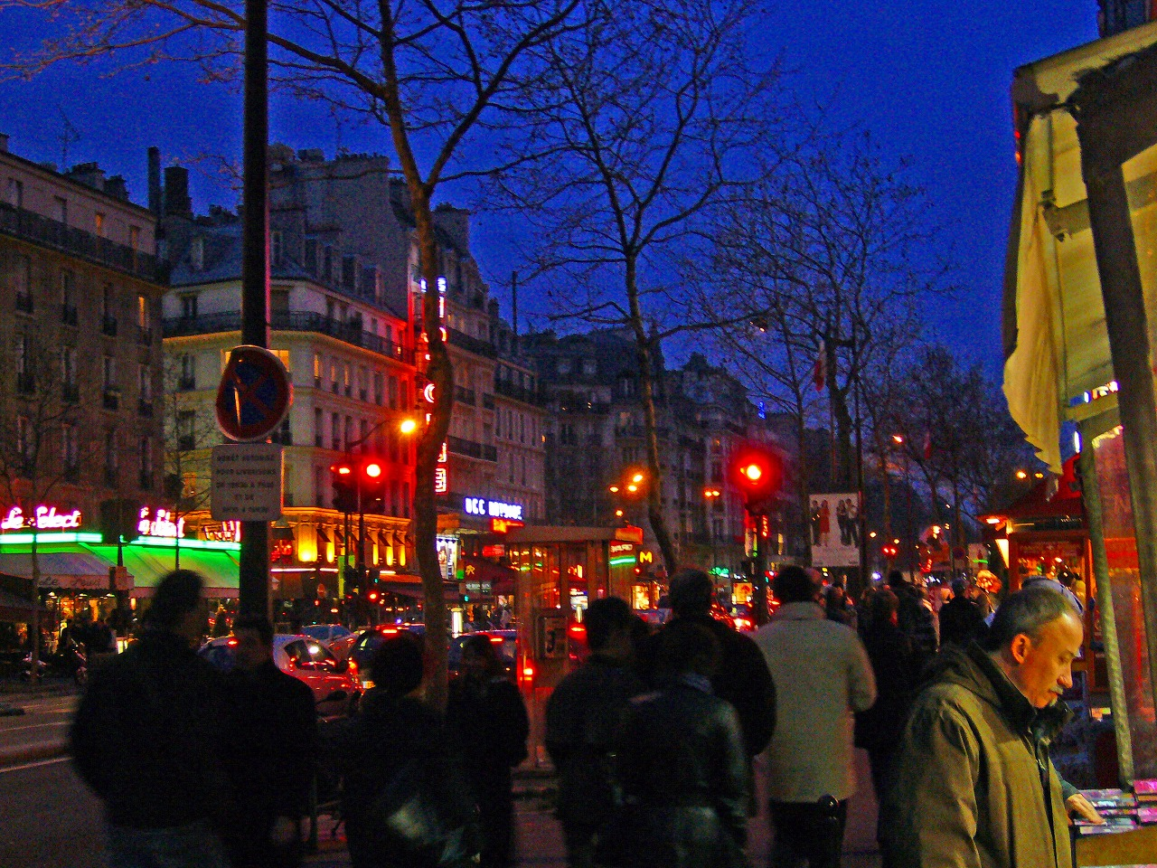 パリ市内夜景
