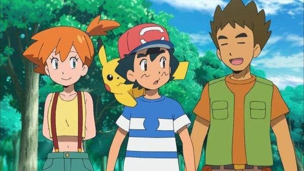 【悲報】アニポケでカスミとタケシが再登場するも違和感が凄すぎる