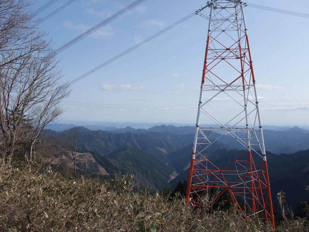 三辻山 鉄塔 播磨北線21